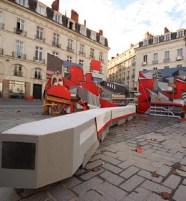 Graffitecture – The square